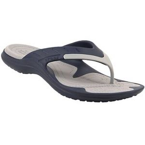 Crocs Modi Sports Flip Flops Navy Gray Size 11